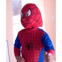 Disfraz De Spiderman Hombre Araña !!