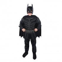 Disfraz Para Niños Hombre Murcielago(batman) Tallas 6,8 Y 12