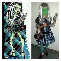 Disfraz Frankie Stein Monster High Usado