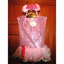 Disfraz De Angelina Bailarina Para Niña Con Tutú