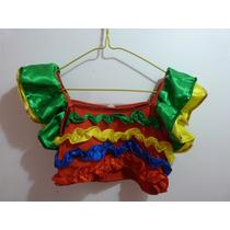 Disfraz-traje-vestido De Rumbera Para Niñas