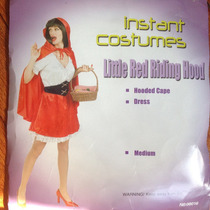 Disfraz De Caperucita Roja Para Dama Talla M