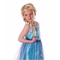 Carnavalito Peluca Princesa De Hielo Frozen