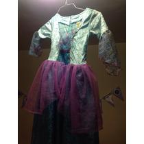 Disfraz Princesa Fantasía Azul Barbie