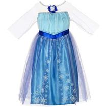 Vestido De La Princesa Elsa Frozen De Disney 4-6x