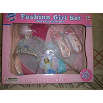 Traje De Princesa Fashion Girl Set