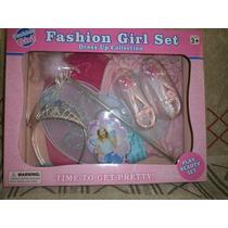 Traje De Princesa Fashion Girl Set