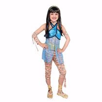 Disfraz Monster High Cleo De Nilotalla 8 Con Peluca