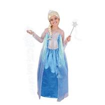 Disfraz Carnavalito Princesa Elsa Frozen Niña T: 4-6