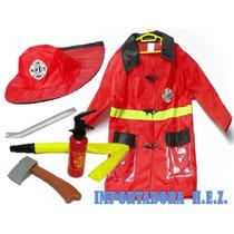 Disfraz Bombero Rojo Disfraces Carnaval