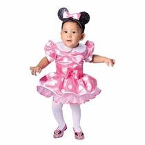 Disfraz Disfraces Minnie Mouse Bebe Vestido Y Cintillo