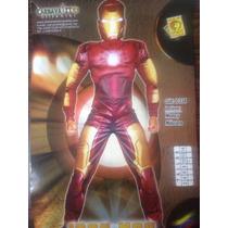 Disfraz De Iron Man (talla 8 Y 10)