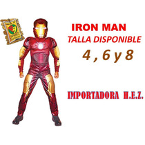 Disfraz De Iron Man Disfraces Para Carnaval