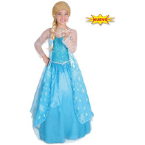 Disfraz De Frozen Elsa Deluxe Original Carnavalito