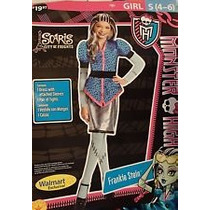 Disfraz Monster High Frankie Stein Talla M (8-10)