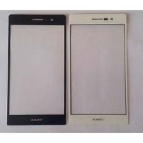 Mica Huawei Ascend P7 Blanco Negro Original+kit Herramientas