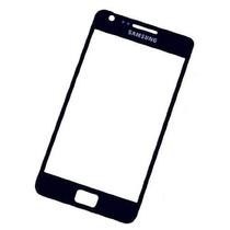Mica Lens Samsung Galaxy S1 I9000 S2 I9100 Blanco Negro Orig
