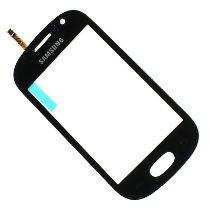 Mica Tactil Samsung S6810 Original En Color Azul