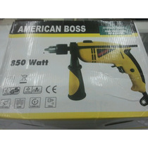 Taladro American Boss 850 Watt Remate.