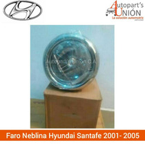 Faro De Neblina Hyundai Santa Fe 2001/2005