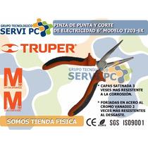 Alicate Pinza De Punta De Electricista Profesional 6 Truper