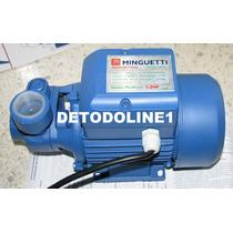 Bomba De Agua Eléctrica Periférica 1/2 Hp Minguetti Garantia