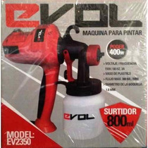 Pistola De Pintar Evol Ev2350 Compresor Nueva Oferta!