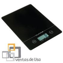 Balanza Peso D Cocina Clever 5kg X 1g Mide Ml D Leche Y Agua