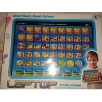 Compu Ipad Pc Tablet Interactiva Español Ingles Niños
