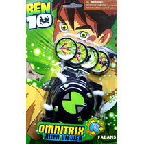 Reloj Ben10 Omnitrix Original Lanzador Discos Juguetes Niño