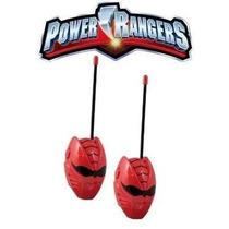 Radio Walkie Talkie Boquitoqui Power Rangers Juguetes Niño
