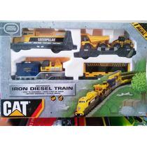 Tren Eléctrico Caterpillar Original