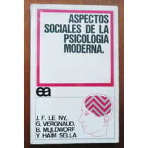 Aspectos Sociales De La Psicología Moderna Varios Autores