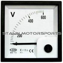 Reloj Voltimetro Panel 208 220 440 480 600 Volt Ac Generador