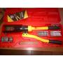 Prensa Terminal Hidraulico Cable 6 Hasta 4/0 Con Estuche
