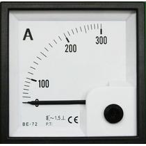 Reloj Amperimetro 300 Amperios Amp Panel Plantas Generador