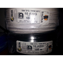 Cable Thhw/thw Sigma 90c 600v Numero 10 Awg. 100% Cobre.
