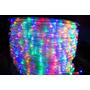 Drywall Led Manguera Luces Multicolor Conector 8 Funciones