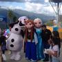 Show Frozen Ana Elsa Olaf Muñecotes Frozen Fiestas Alquiler