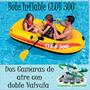 Bote Inflable Club 300 Para Tres Personas Con Remos Y Bomba