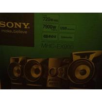 Equipo De Sonido Sony 720 W