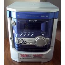 Equipo De Sonido Sharp -- 3 Cd -- 2 Casset --radio Am Fm