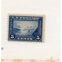 Usa 1914-15 Sc#403 Mint-nh-og Golden Gate Perf:10- Muy Rara