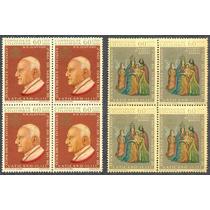 Estampillas Colombia Bloque 4 Papa Juan Xxiii 1963 Vaticano