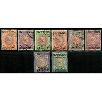 1911 Irán: Escudo Nacional Reselladas