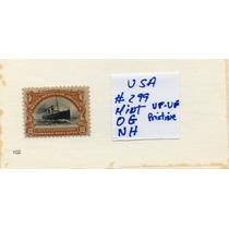 Usa 1901 Scott# 299 Mint-nh-og -pristina Soberbia Pieza Rrrr