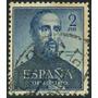 Estampilla De España 1 Valor De 1952 Nro. 1118