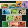 Estampillas San Marino 2 Series - 12 Valores Barcos - Fauna