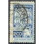 Estampilla Brasil 200 Reis - Bolívar, San Martín, Washington