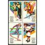 Estampillas Estados Unidos Serie Olimpiadas De Invierno 1984